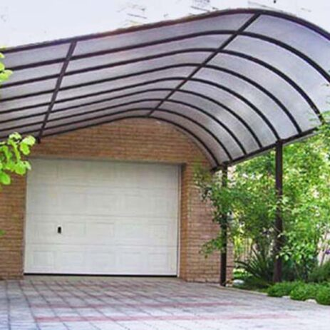 Индивидуальное гаражное укрытие - навесы от компании MASTER-METALLA